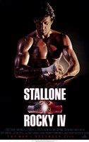Rocky 4 Stallone Wall Poster