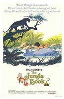 Jungle Book Disney Wall Poster