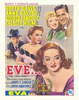 All About Eve Wall Poster
