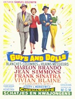 Guys and Dolls Samuel Goldwyn Fine-Art Print