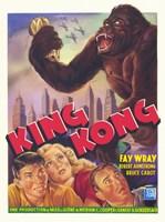 King Kong Fay Wray Wall Poster