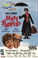 Mary Poppins Supercali-fragi-lisdica Wall Poster