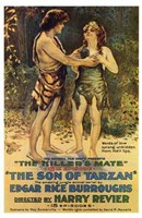 The Son of Tarzan, c.1920 - style B Wall Poster