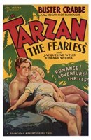 Tarzan the Fearless, c.1933 Wall Poster