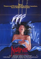 Nightmare on Elm Street  a - woman Wall Poster