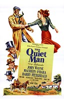 The Quiet Man John Wayne & Cast Wall Poster