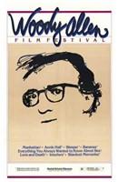 Woody Allen Film Festival Wall Poster