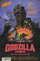 Godzilla 1985 Wall Poster