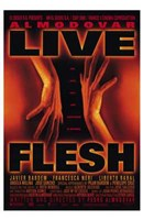 Live Flesh Wall Poster