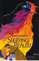 Sleeping Beauty Ablaze with Wonders Wall Poster