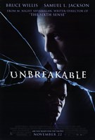 Unbreakable movie poster Wall Poster