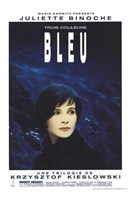 Trois Couleurs: Bleu Film In French Wall Poster