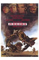 Once Upon a Time in the West German Wall Poster