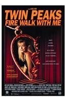 Twin Peaks Fire Walk with Me Heart Locket Wall Poster