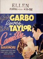 Camille Barrymore Wall Poster