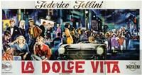 La Dolce Vita Horizontal Wall Poster