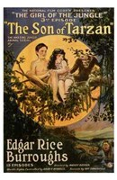 The Son of Tarzan, c.1920 - style A Wall Poster