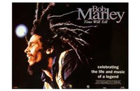 Bob Marley Time Will Tell Wall Poster
