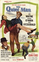 The Quiet Man Fitzgerald John Wayne & O'Hara Wall Poster