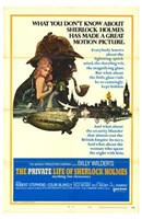 Private Life of Sherlock Holmes Wall Poster