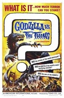 Godzilla Vs the Thing Wall Poster