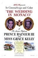 Wedding in Monaco Wall Poster