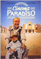 Cinema Paradiso Philippe Noret Wall Poster
