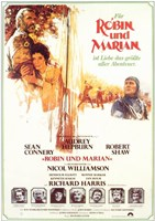 Robin and Marian German Wall Poster
