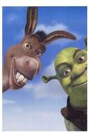 Shrek 2 Donkey and Shrek Wall Poster