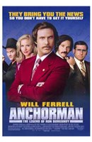 Anchorman: the Legend of Ron Burgundy Fine-Art Print