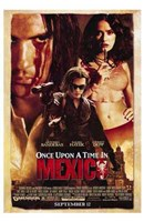 Once Upon a Time in Mexico Wall Poster