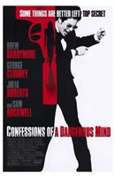 Confessions of a Dangerous Mind Wall Poster