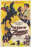 The Sign of Zorro Wall Poster