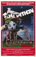 Monty Python Live At Hollywood Bowl Wall Poster