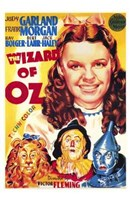 The Wizard of Oz Cartoon Wall Poster