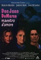 Don Juan De Marco Film Italian Wall Poster