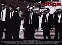 Reservoir Dogs Black and White Wall Poster