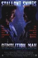 Demolition Man Wall Poster
