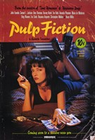 Pulp Fiction Coming Soon Wall Poster