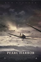 Pearl Harbor Jet Fighter Planes Wall Poster