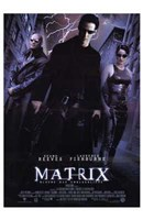 The Matrix - lightning Wall Poster