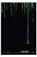 The Matrix Revolutions Code Wall Poster