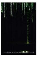 The Matrix Revolutions Code Wall Poster