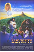 Labyrinth - creatures Wall Poster