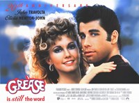 Grease Travolta & Newton-John Wall Poster
