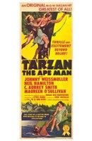 Tarzan the Ape Man, c.1932 Wall Poster