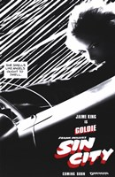 Sin City Jaime King as Goldie Wall Poster