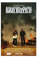 Bad Boys II Movie Wall Poster