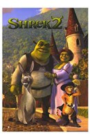 Shrek 2 Family Wall Poster