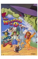 Wizard of Oz (Animated) Wall Poster